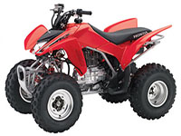 honda-2011-trx-250x-youth-sport-performance-atv-red